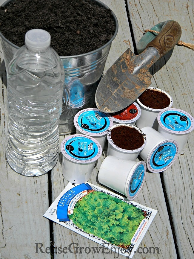 K Cup Uses Diy Plant Starters