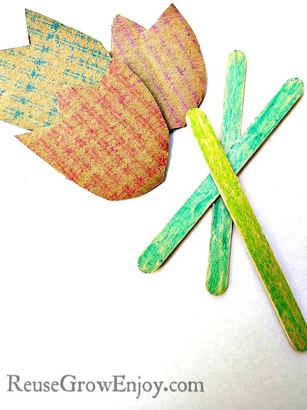 DIY Kids Craft Coloring