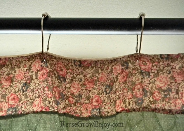 Super Easy Way To Make Quilt Curtains On Hook