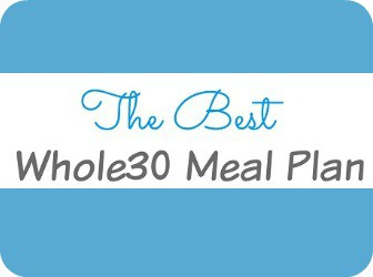 Whole30 Meal Plan Sidebar Button