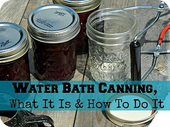 Water Bath Canning Button