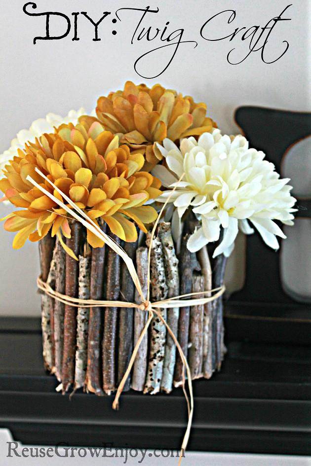 DIY Twig Craft