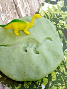 The Good Dinosaur: Dinosaur Fossils Craft With Homemade Play-Doh
