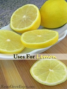 Uses For Lemon: Things You May Not Know That it Was Good For!