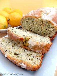 Almond Poppy Seed Lemon Bread Recipe