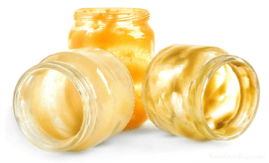 Empty baby food jars