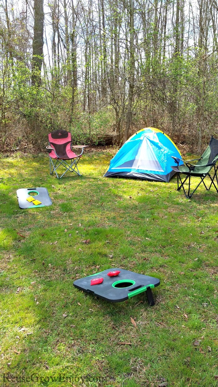 Backyard Camping Fun For The Whole Family - Reuse Grow Enjoy