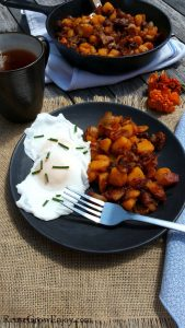 Maple Bacon Butternut Squash Hash – Paleo & Whole 30 Option