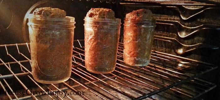 Baking In Jar