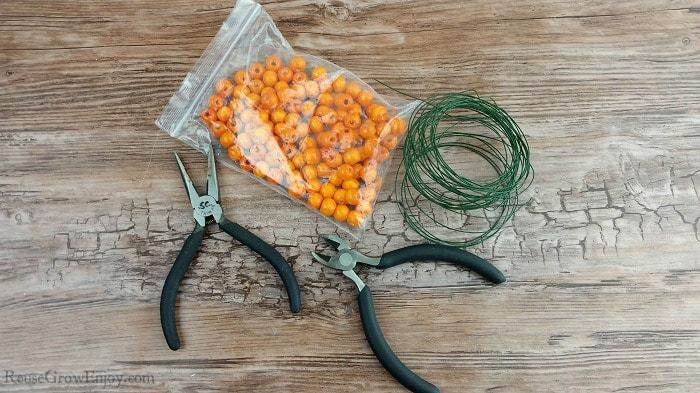 Bead pumpkin supplies