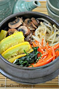 Bibimbap Recipe, Vegetarian Too! Also Very Easy To Turn Gluten Free