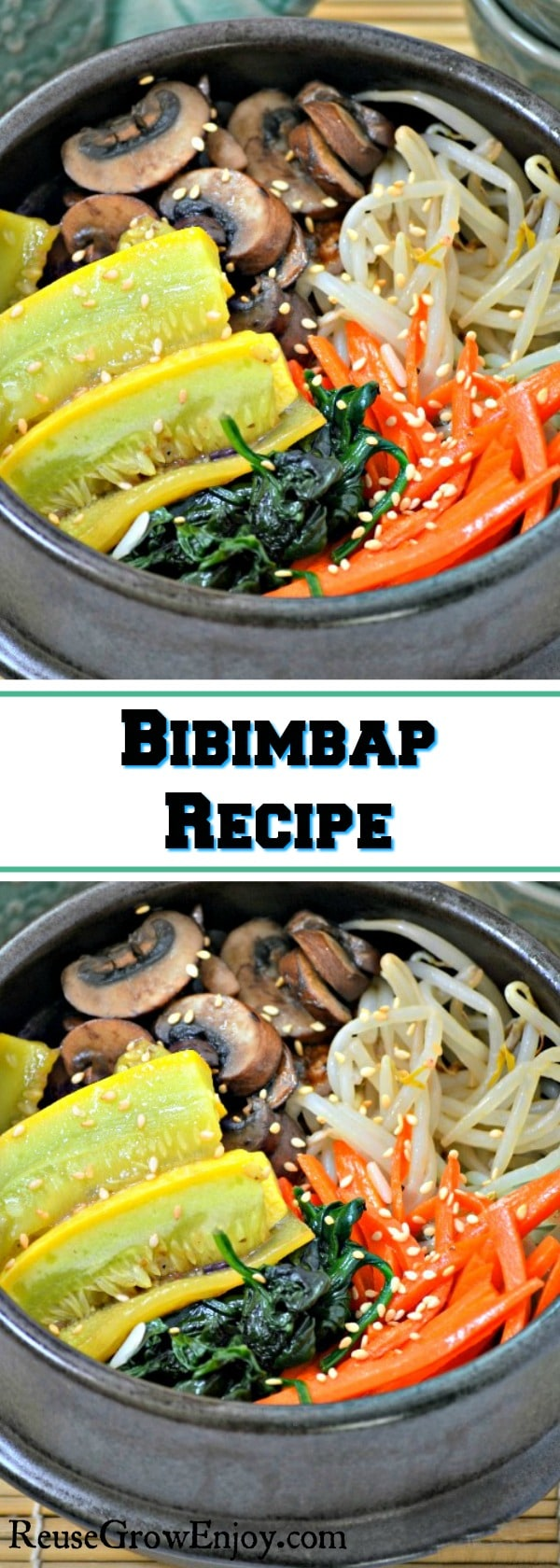 Looking for a new recipe to try with all your fresh produce? Check out this easy and yummy Bibimbap Recipe!