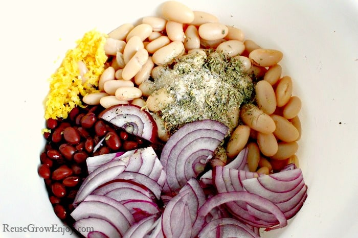 Black and White Bean Salad Recipe