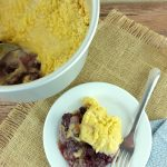 You don't have to miss out on amazing foods you love when you are on the Paleo diet. This Paleo blackberry Instant Pot cobbler will not let you down! While the topping is a little gooier than baked cobblers, it still tastes amazing. Plus for not using sugar, this comes out sweet!