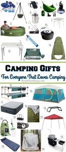 If you are looking for gift ideas for ones who love camping, I got you covered! Check out this list of 25 top camping gifts for everyone that loves camping!