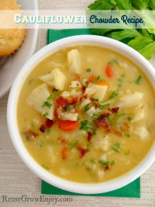 Cauliflower Chowder Recipe
