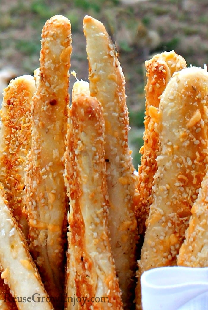 Are you wanting some fresh baked bread? I have a Cheesy Garlic Breadsticks Recipe that you have to try! It is to die for!