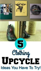 5 Clothing Upcycle Ideas You Have To Try!