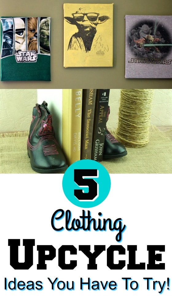 Have some old clothing and looking for ways to upcycle it? Check out these 5 Clothing Upcycle Ideas You Have To Try!