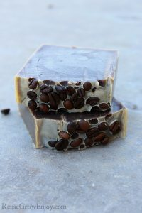 DIY Cold Processed Coffee Soap