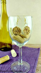 DIY Cork Earrings
