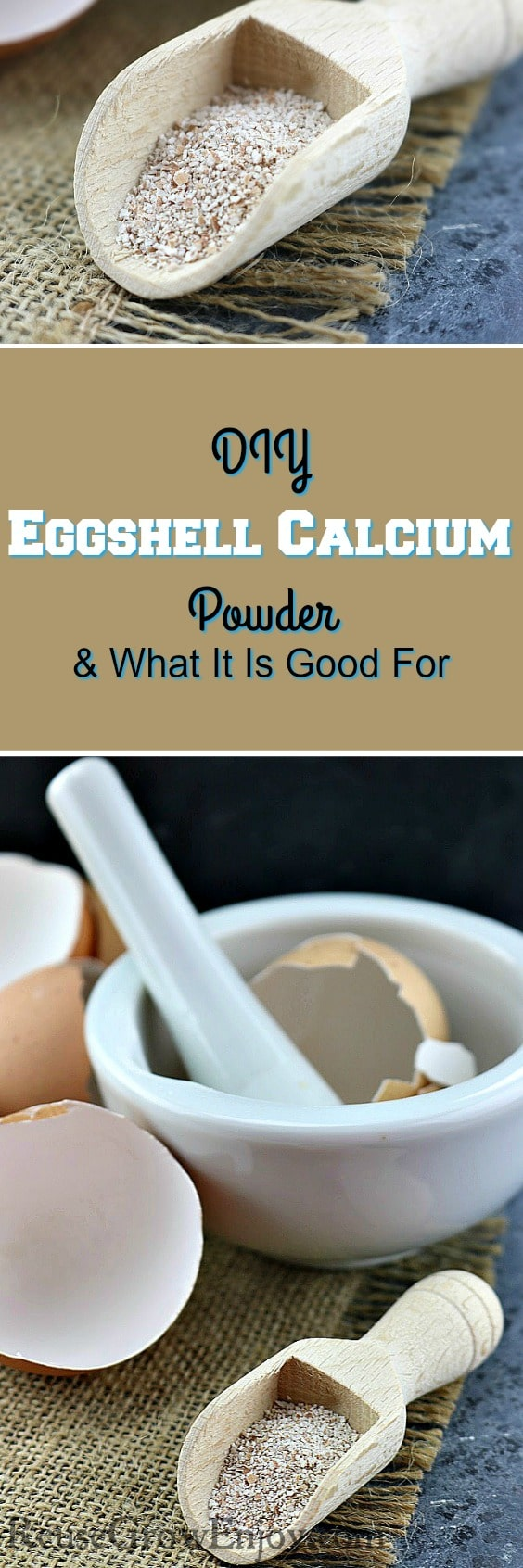 Need to add calcium to your diet? Check out this DIY Eggshell Calcium Powder & What It Is Good For!