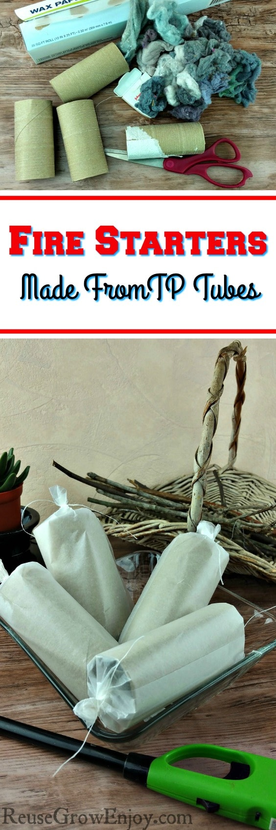 Going camping or have a fireplace? Then you may want to check out these DIY fire starter made from TP tubes.