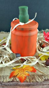 DIY Glass Pumpkin Craft – Made From Upcycled Supplies