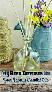 DIY Reed Diffuser With Your Favorite Essential Oils