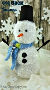 DIY Sock Snowman Craft – Easy!