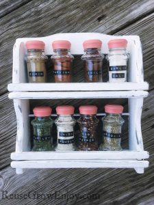 DIY Spice Rack Makeover – Change It To Fit Your Style