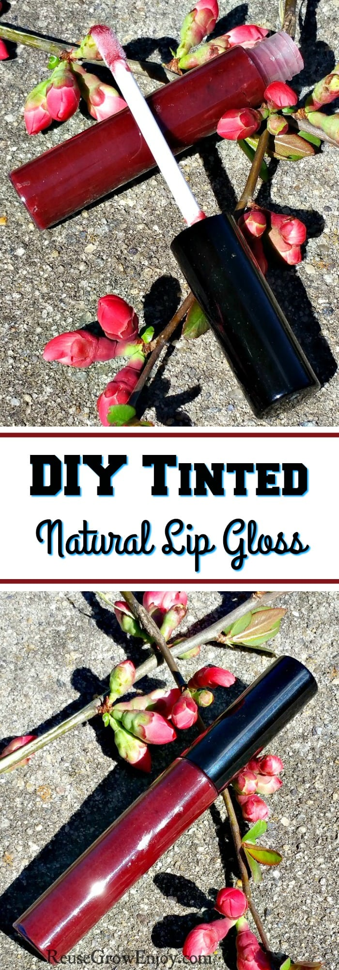 If you are someone trying to live a more natural life this may be an easy DIY you will want to check out. I will show you how to make this DIY tinted natural lip gloss. It leaves the lips feeling smooth!