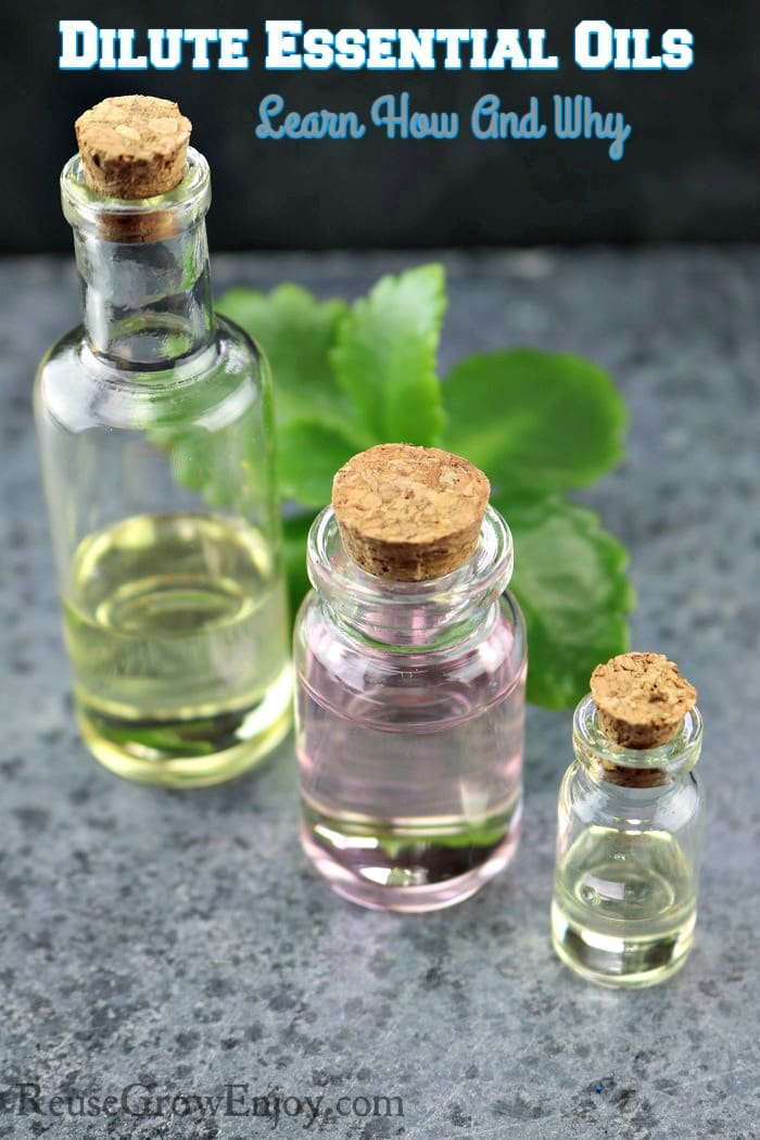 Are you new to using oils and wondering why some say to dilute? Check out this post on Dilute Essential Oils - How And Why You Need To Dilute Some Essential Oils.
