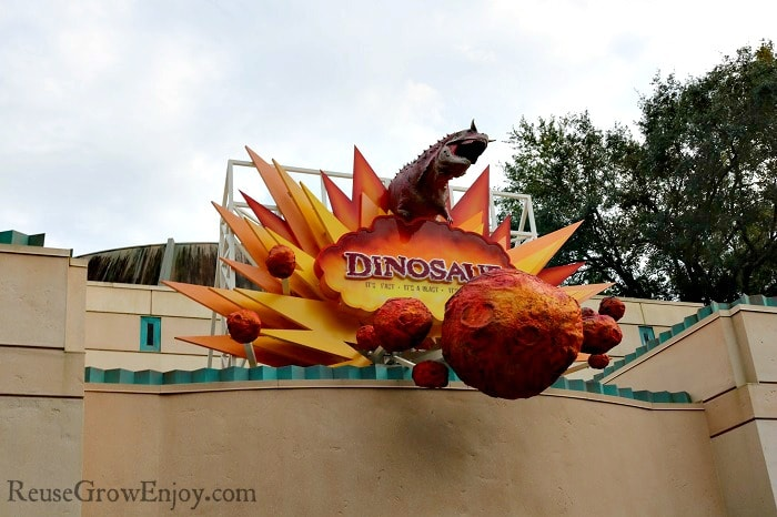 If you have kids that love dinos, be sure to check out the dino area.