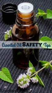 Essential Oil Safety Tips