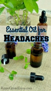 Essential Oil for Headaches