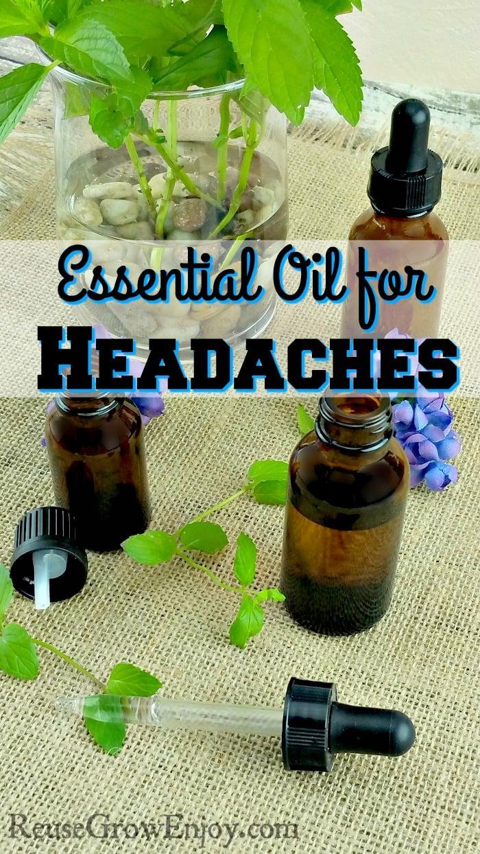 Essential Oil for Headaches