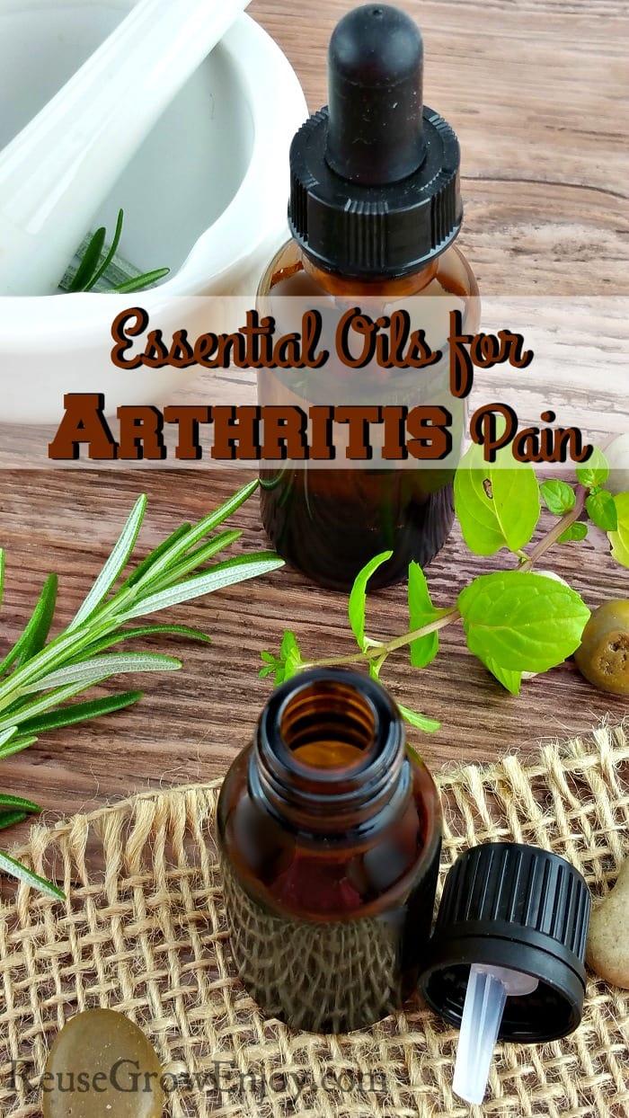 Essential Oils for Arthritis Pain
