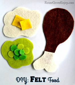 DIY Felt Food