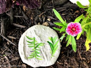 Cement DIY Garden Stone