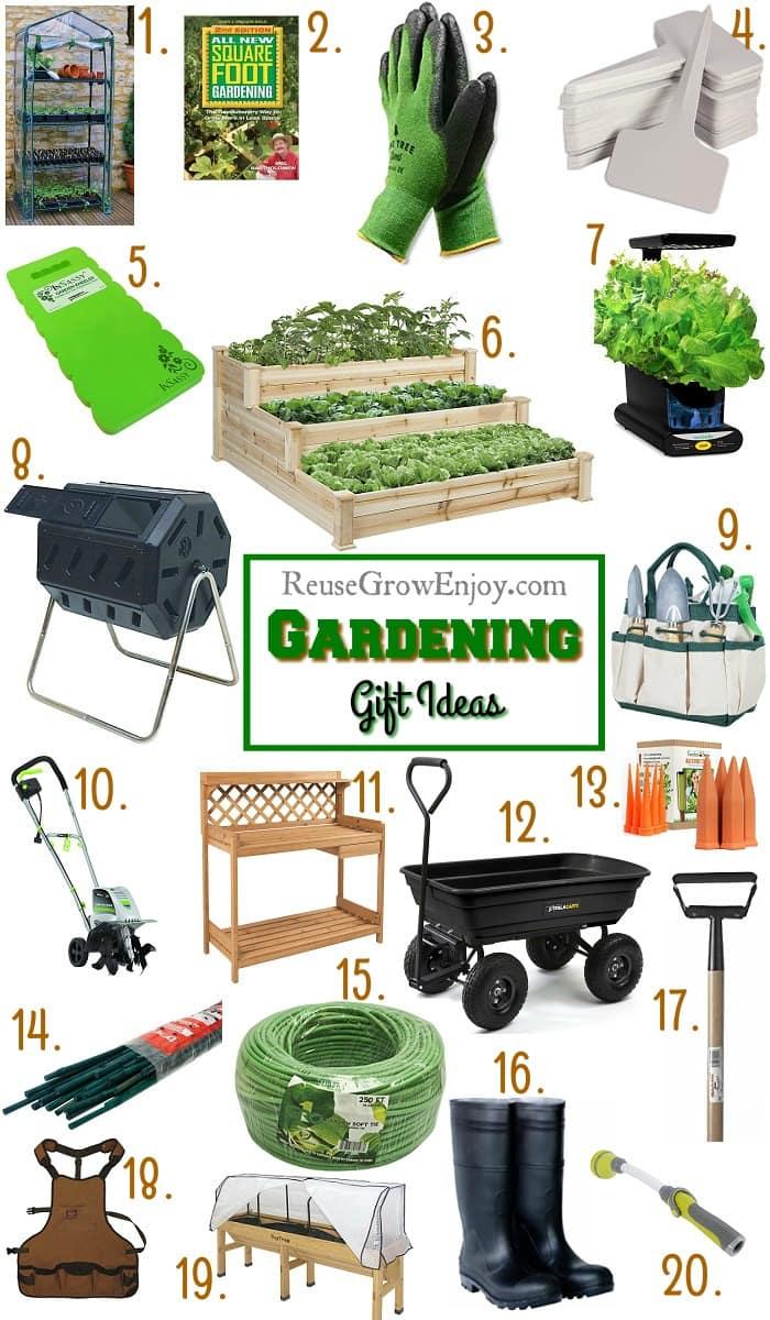 Gardening Gifts - Garden Gift Ideas That Every Gardener Would Love