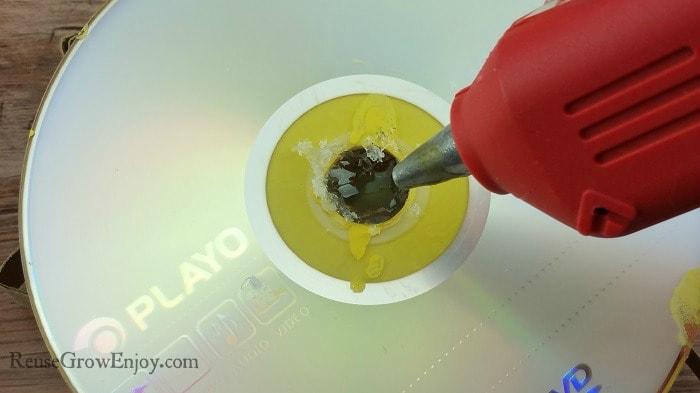 Glue Back Of Disc