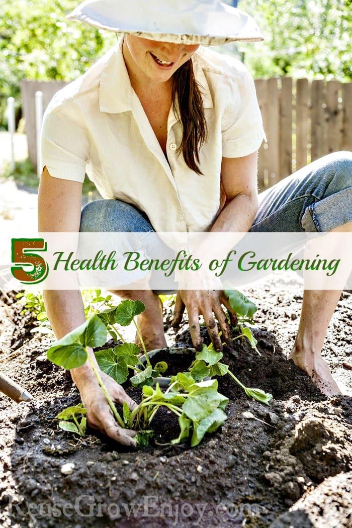 Health Benefits Of Gardening Reuse Grow Enjoy