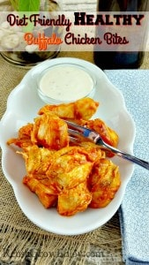 Healthy Buffalo Chicken Bites That Are Diet Friendly