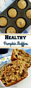 Healthy Pumpkin Muffins – A Must Try Pumpkin Muffin Recipe!
