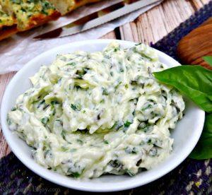 Homemade Parmesan Herb Butter Recipe
