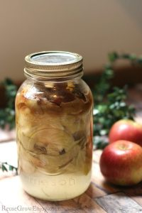 DIY Homemade Apple Cider Vinegar