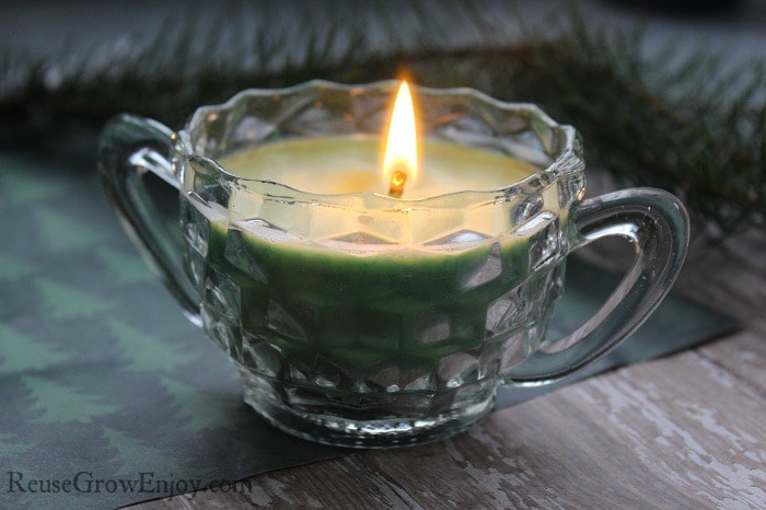 Nothing like a homemade candle made just the way you want!
