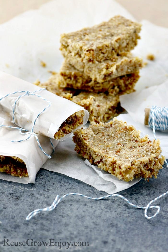 Do you enjoy LaraBars? I know I sure do! You can make them yourself much cheaper! Check out this Homemade Coconut Cream Mock Larabars Recipe! It is Paleo & Gluten Free.
