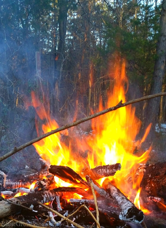 If you are just getting started into camping and not sure how to build a campfire, I will show you step by step how to do it. I even include pictures to make it easier to understand.